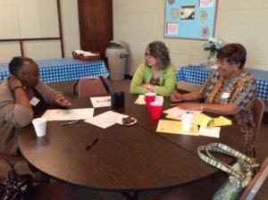 Associate planning meeting.