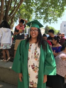 Congratulations to Esmeralda Sanchez on her graduation from Bishop England High School.  She will be attending the College of Charleston in the fall.